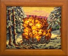 Explosion - 2013 - 45X35